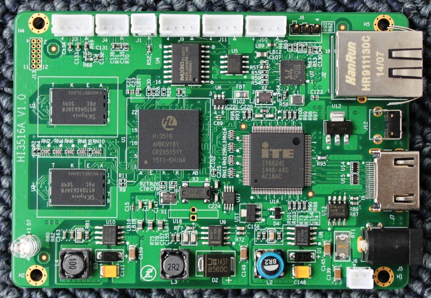 海思Hi3519 SDK 芯片手册PDF   闭路监控