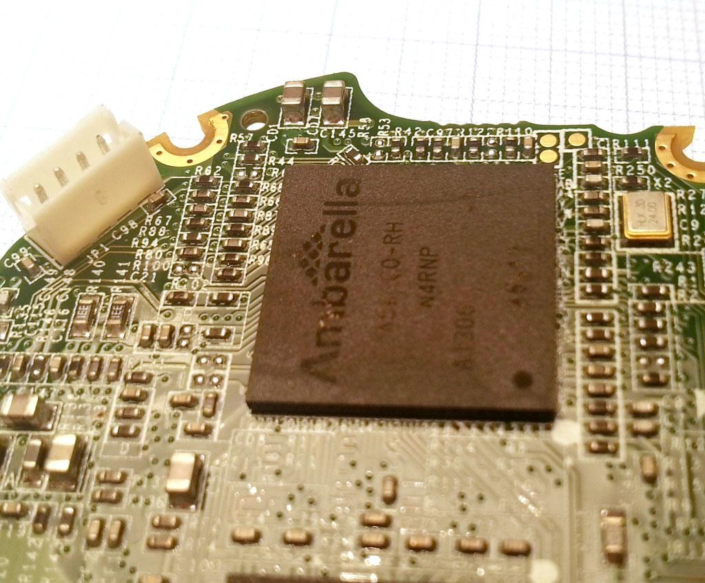 海康威视DS-2CD2032-I摄像头采用安霸A5s处理器